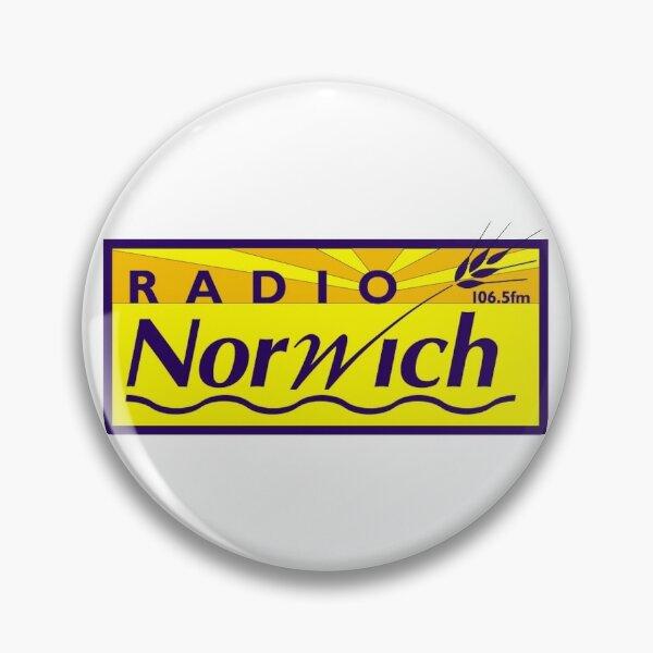 Alan Partridge - Radio Norwich Pin