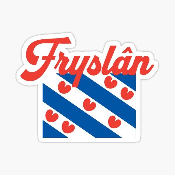 Frisian Flag, Friese Vlag Sticker