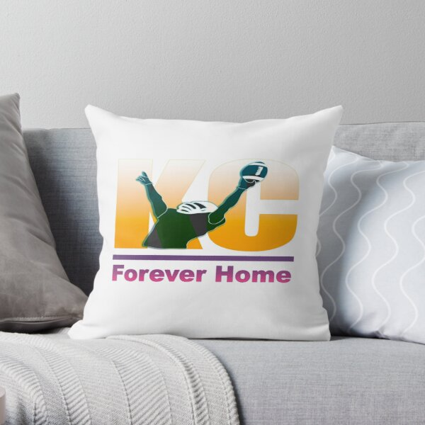 The Patrick Mahomes 'Forever Home' T-shirt Throw Pillow
