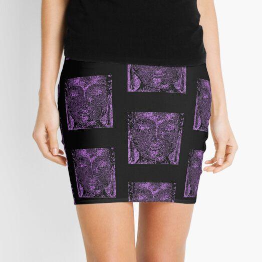 Buddha of Compassion 1 Design 2 Mini Skirt