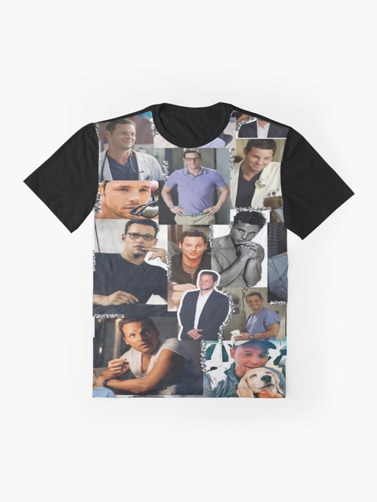 Alternate view of Alex Karev Collage Graphic T-Shirt