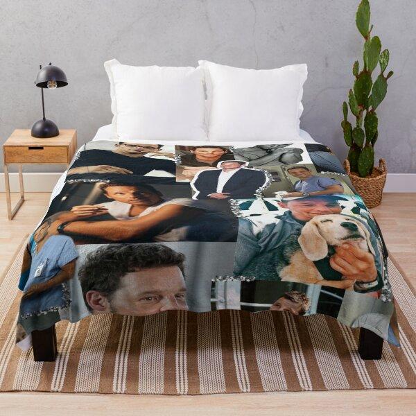 Alex Karev Collage Throw Blanket