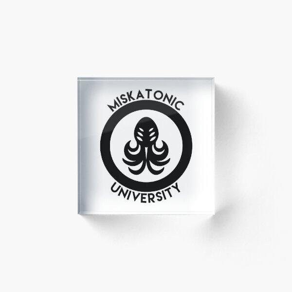 Miskatonic University Acrylic Block