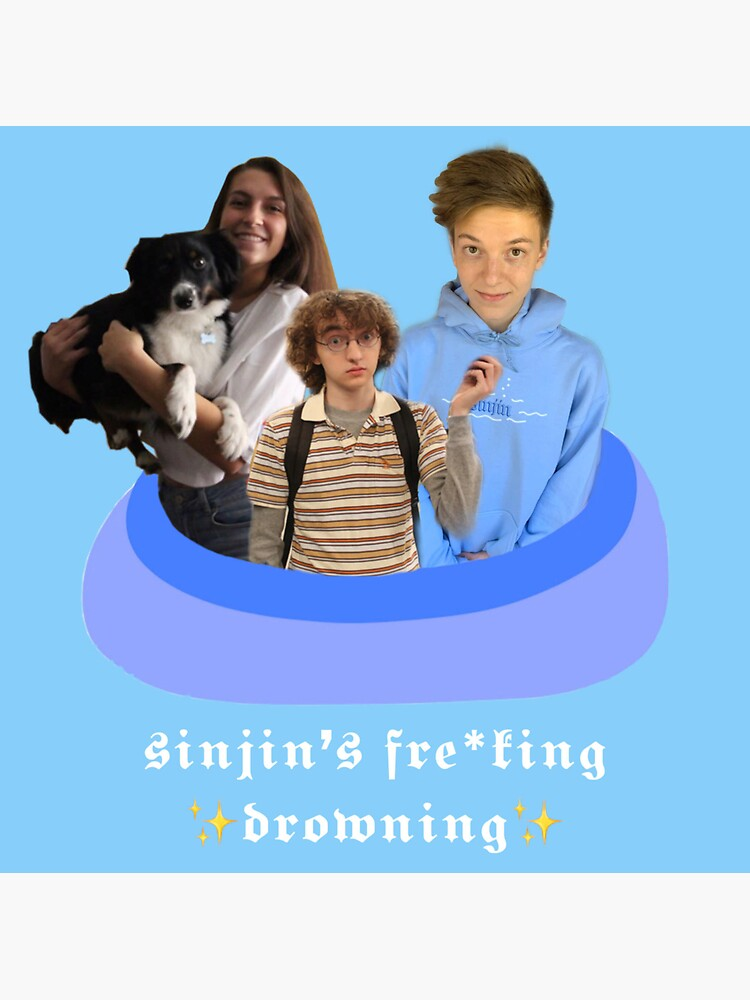 sinjin's fre*king drowning ! by gruccicrocs