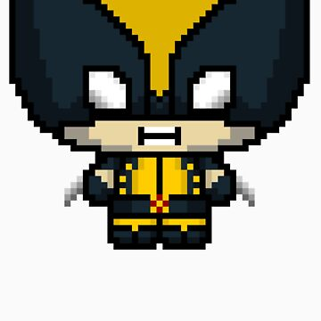 Chibit Wolvie (Yellow) by GeekHQ