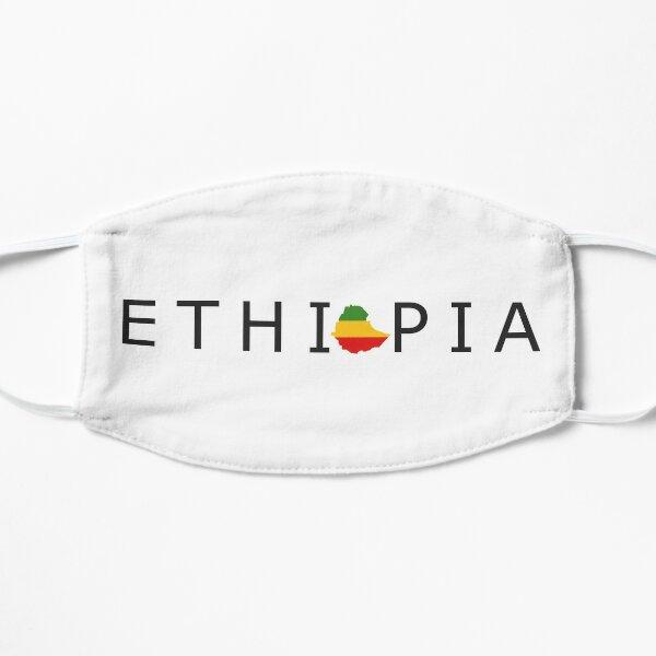 ETHIOPIA Habesha Map Slogan Design Mask