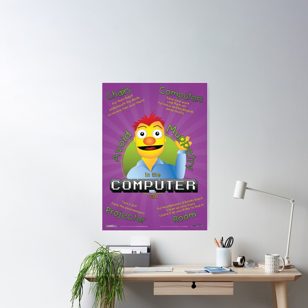 Avoid Muppetry in the Computer Lab Poster