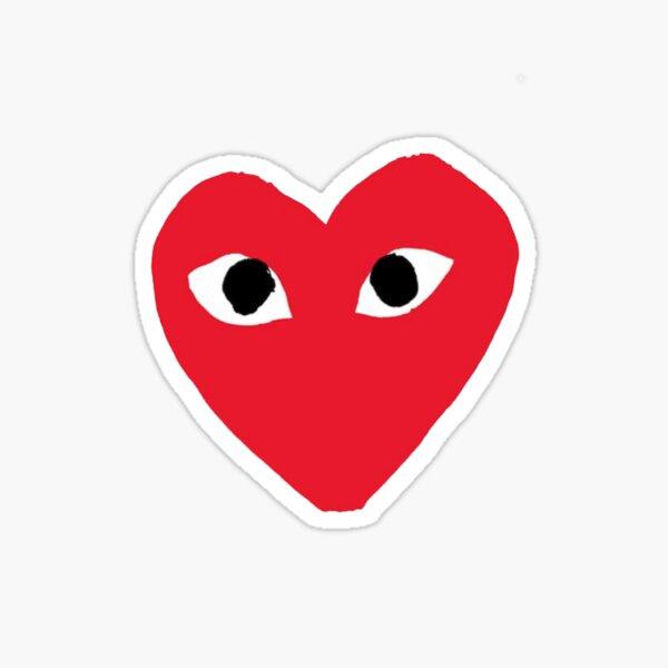 PLAY Heart Comme des Garçons (CDG) Sticker
