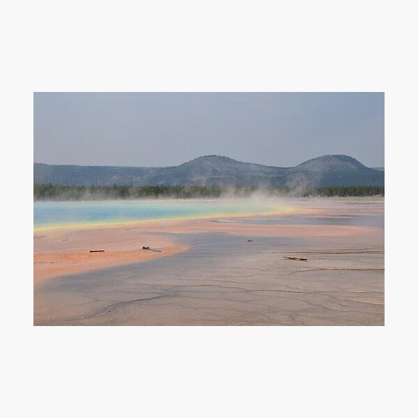 Grand Prismatic Springs 3 Photographic Print