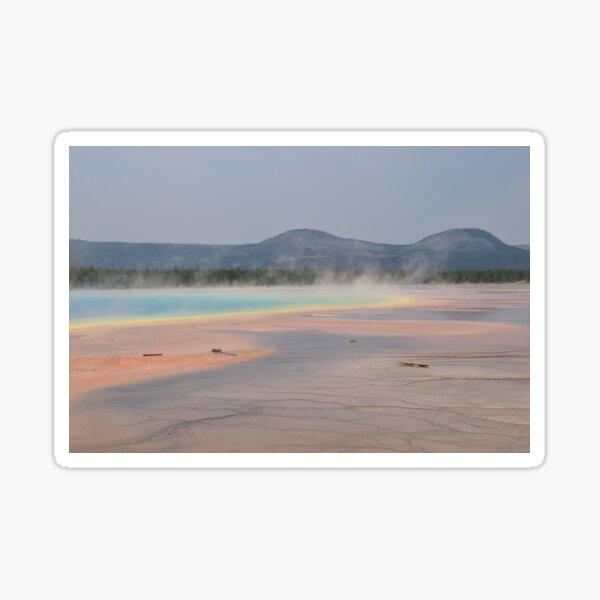 Grand Prismatic Springs 3 Sticker
