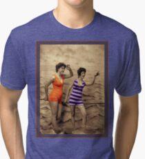 Swimming Fashion Tri-blend T-Shirt