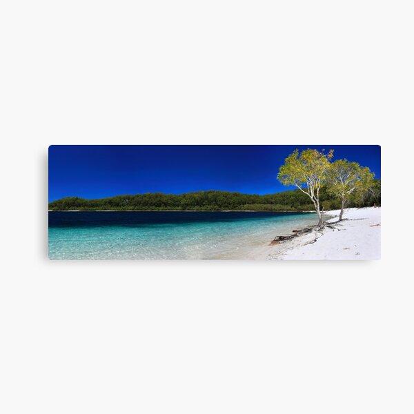 The blue paradise Canvas Print