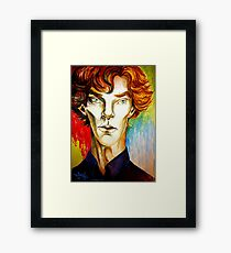 Sherlock: A Study in Colour Framed Print
