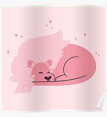 Sleeping Lion Poster
