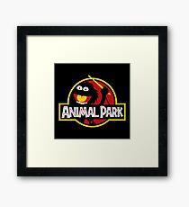 Animal Park Framed Print