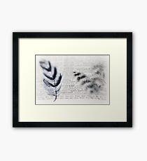 symbolic~ Framed Print