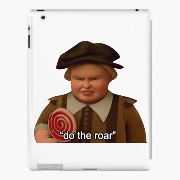 "Shrek ""Do the Roar"" iPad Snap Case"