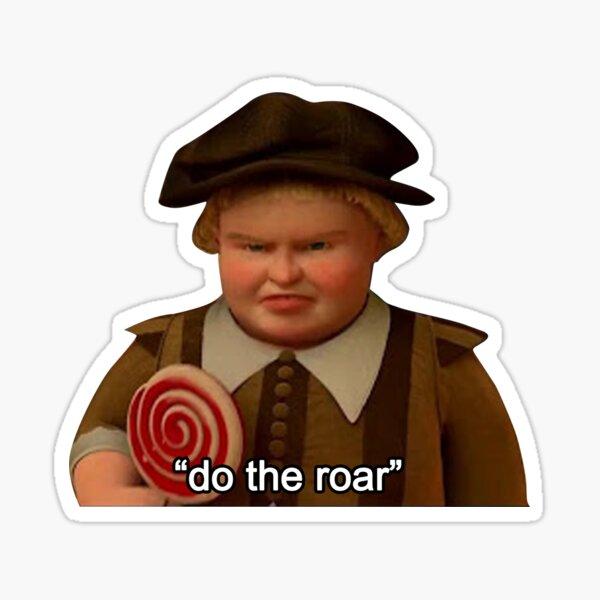"Shrek ""Do the Roar"" Sticker"