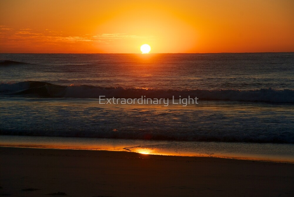Sunrise on Sunshine Beach by Extraordinary Light