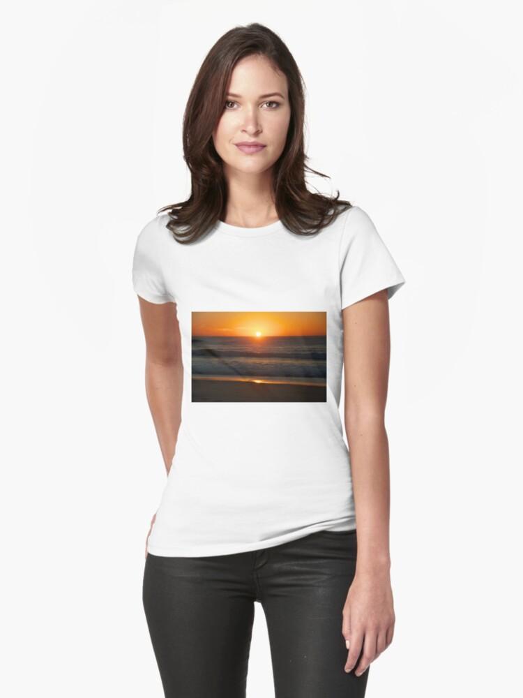Sunrise on Sunshine Beach Womens T-Shirt Front