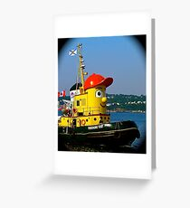 Theodore Too -- Delighting all ! Greeting Card