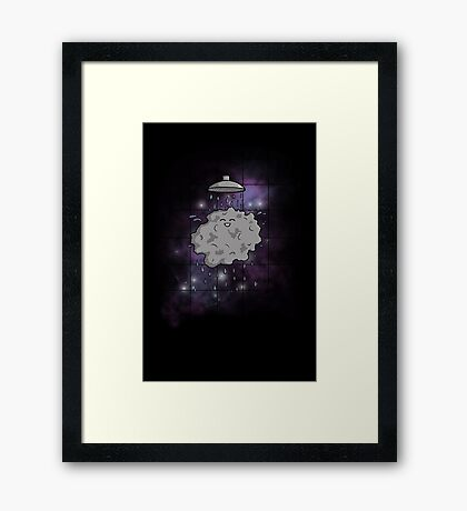Meteor Shower Framed Print