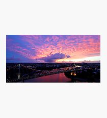Sunrise over the Story Bridge Photographic Print