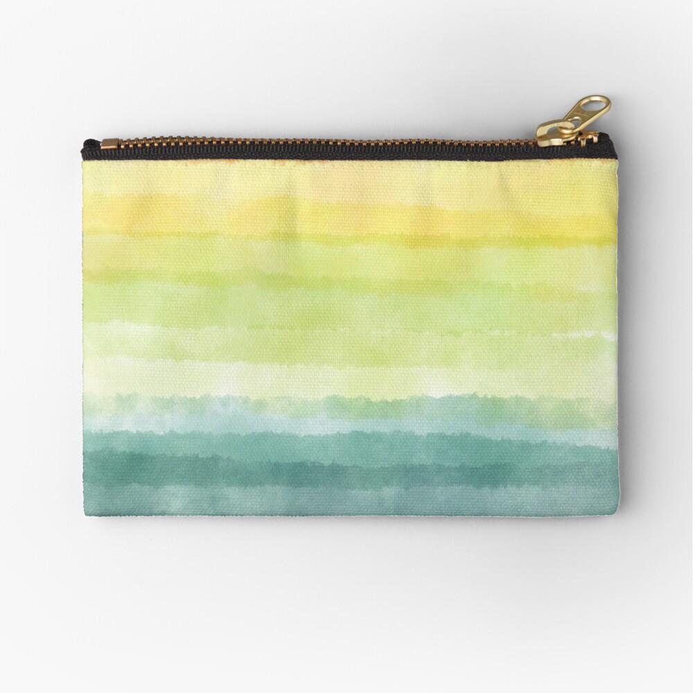 Retro breeze _ watercolour Zipper Pouch