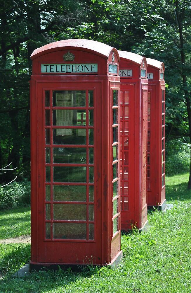 1935 Telephone Kiosk - King George V - I by studio20seven