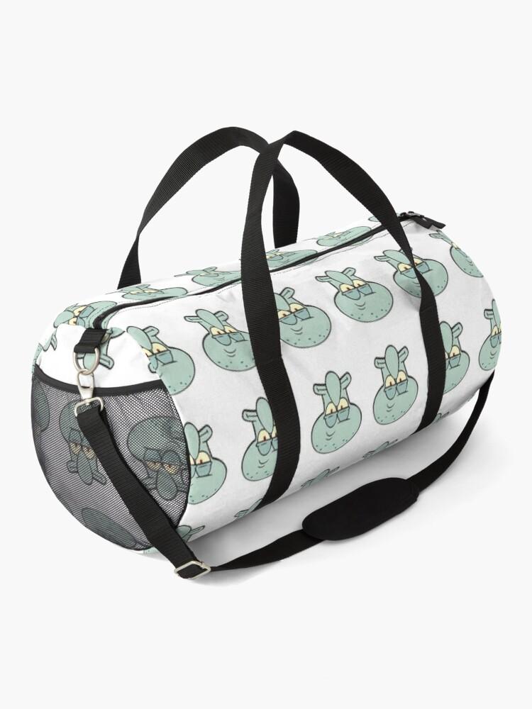 Alternate view of  Squidward Tentacles sticker Duffle Bag