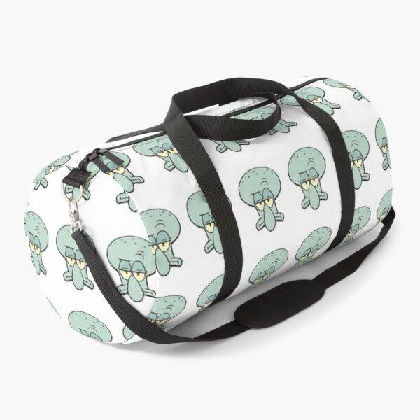 Squidward Tentacles sticker Duffle Bag