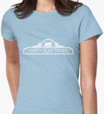 Amity Bootstouren Tailliertes T-Shirt