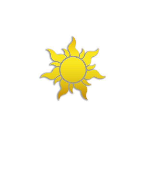 Quot Tangled Kingdom Sun Emblem 1 Quot Stickers By Jeffery