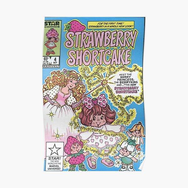 strawberry shortcake aesthetic Poster