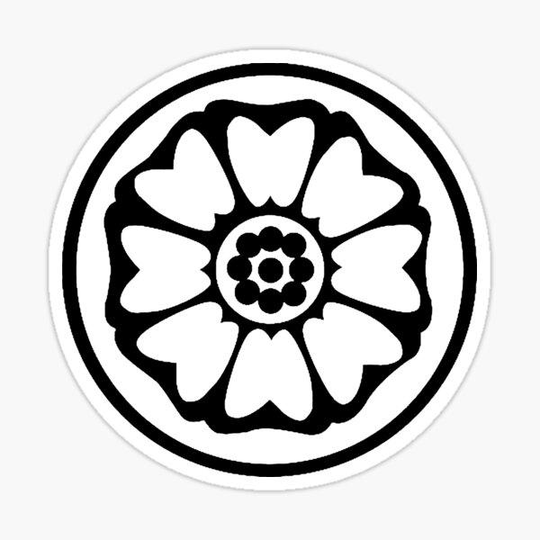 White Lotus Tile Stickers Redbubble