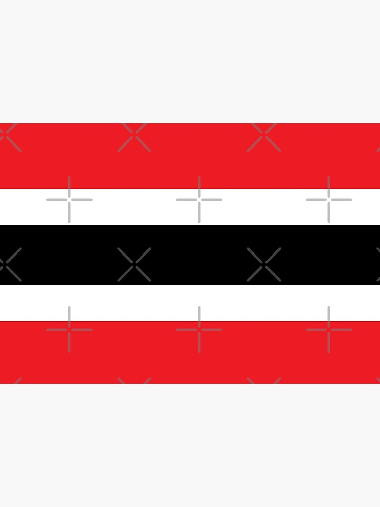 Trinidad and Tobago Colour Block National colours by identiti