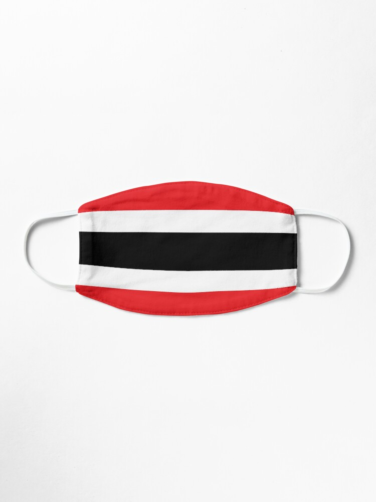 Alternate view of Trinidad and Tobago Colour Block National colours Mask