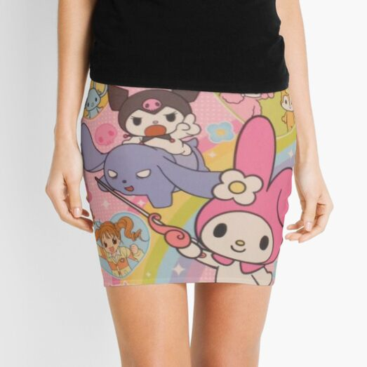 y2k kawaii aesthetic Mini Skirt