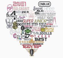 Kpop Groups  | Unisex T-Shirt