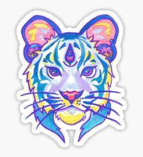 Pegatina Clairvoyant Pastel Tiger