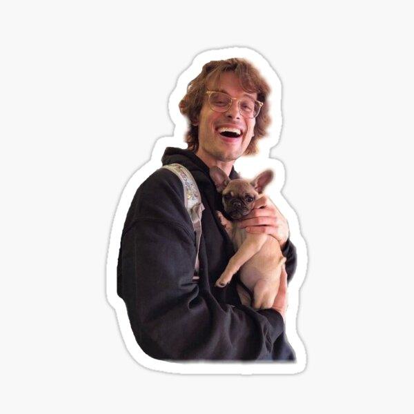 Puppy with matthew gray gubler Sticker