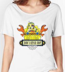 Robo Repair Shop Women's Relaxed Fit T-Shirt