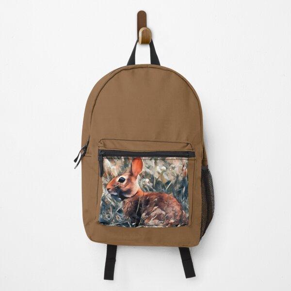 Woodland bunny rabbit Backpack