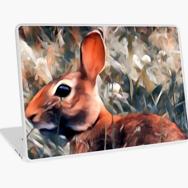 Woodland bunny rabbit Laptop Skin