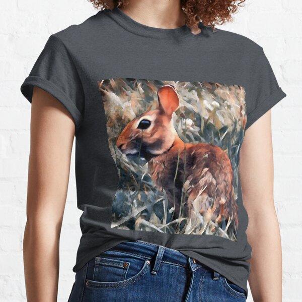 Woodland bunny rabbit Classic T-Shirt