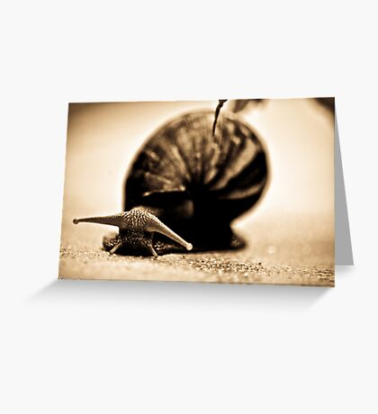 Happiness is...use slow life...SOLD, Got Featured Work Greeting Card