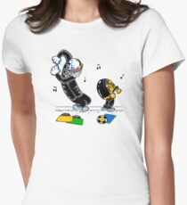 Let's be daft Women's Fitted T-Shirt