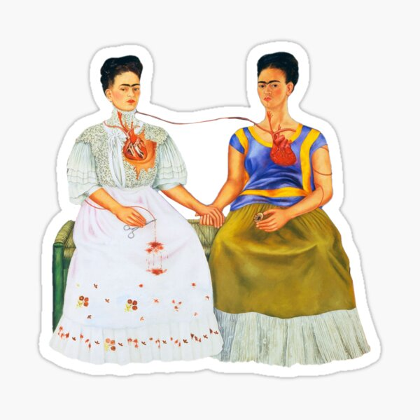 the two fridas (for real) Sticker
