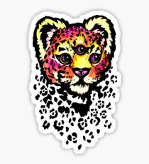panthera mystic Sticker
