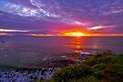 Sunset, Palos Verdes CA by photosbyflood